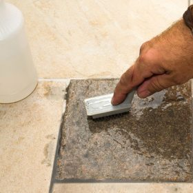 How-to-remove-dried-grout-from-tile