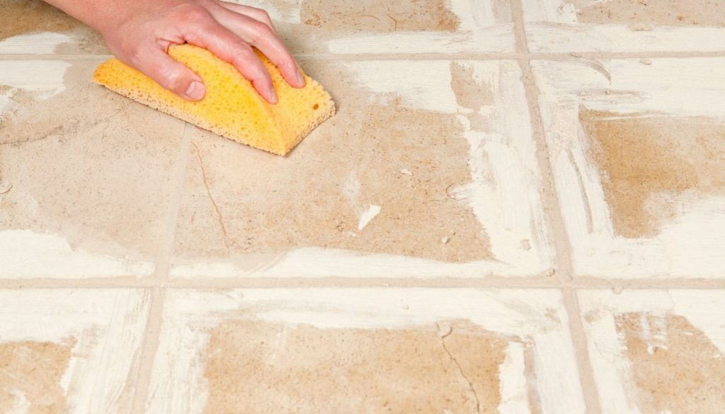 removing-dried-grout-from-tile